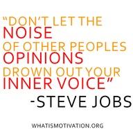 noise steve jobs opinions